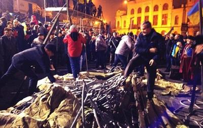 Оппозиционеры решили разместить палаточный городок на Европейской площади