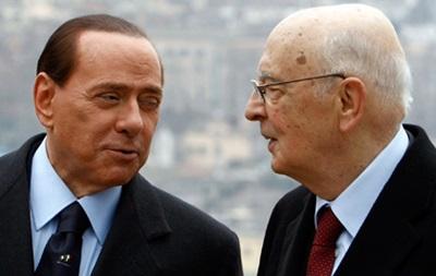 Президент Италии заявил, что нет никаких оснований для помилования Берлускони