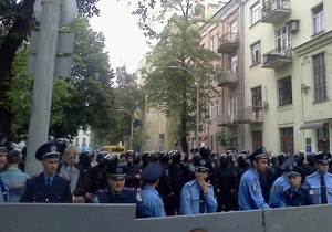 Милиция применила слезоточивый газ против сторонников оппозиции - агентство