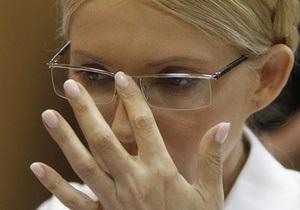 ГПС: Этапирование Тимошенко не состоится из-за отмены допроса свидетеля