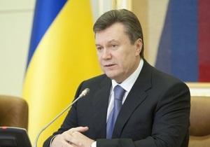 Янукович и Медведев довольны динамикой сотрудничества РФ и Украины