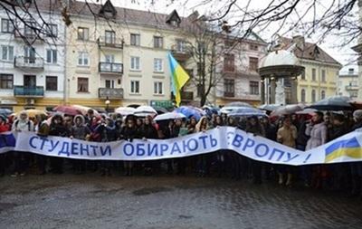 В Ивано-Франковске студенты объявили бессрочную забастовку