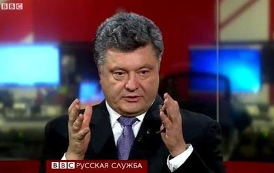 Порошенко: Мы уходим от  совка , а не от России