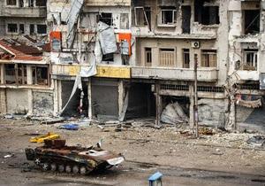 Сирия - Войска Асада захватили один из ключевых районов Хомса
