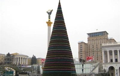 На неделю раньше. Житомир установит столичную елку в виде конуса