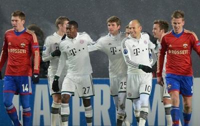 Бавария в Москве установила рекорд Лиги чемпионов
