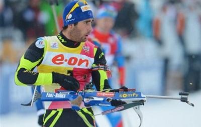Биатлон: Мартен Фуркад выиграл мужскую гонку, лучший из украинцев финишировал 11-м