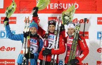 Биатлон: Флатланд выигрывает спринт, украинки не попали в десятку