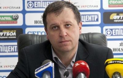 Тренер Зари: Легче играть с такими командами, как Днепр, Динамо и Металлист