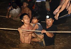 Шторм на Филиппинах: 180 погибших, 400 пропавших без вести