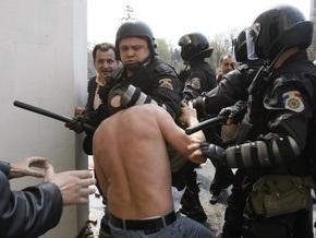 Молдавская полиция задержала 193 участника массовых беспорядков в Кишиневе