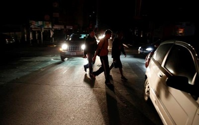 Почти вся Венесуэла погрузилась в темноту