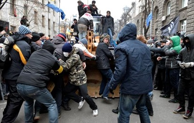 Суд арестовал всех девятерых обвиняемых в организации беспорядков в Киеве