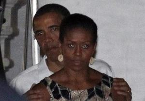 Обама посетил  музей шпионажа