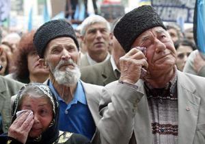 В Крыму проходит День памяти жертв депортации 1944 года