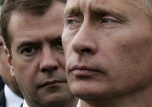 Опрос ВЦИОМ: уровень поддержи Медведева и Путина вырос
