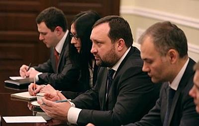 Арбузов заверил иностранных дипломатов в европейском выборе Украины