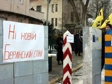 Suddeutsche Zeitung: Протесты против  новой Берлинской стены