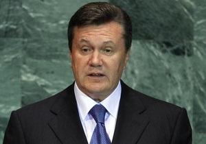 Янукович одобрил изменения к принятому антикоррупционному закону