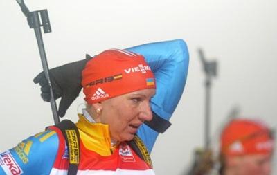 Украинские биатлонистки свою победу на этапе Кубка мира посвятили Бубке