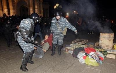 На Евромайдане в Киеве создали стену памяти активистов, побитых Беркутом