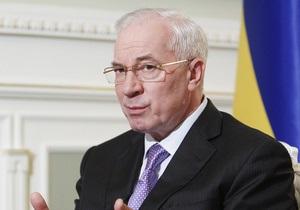 Азаров отчитался о накоплениях на счетах ПФ