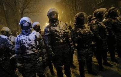 Протесты в Киеве: милиция разобрала одну из баррикад