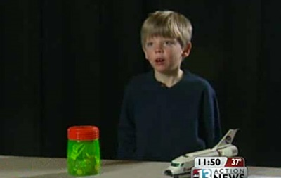 Шестилетний американец решил спасти NASA