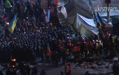 Милиция не применяла слезоточивый газ на Майдане Незалежности - МВД
