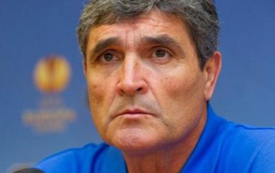 Тренер Днепра назвал Шахтер фаворитом Лиги Европы