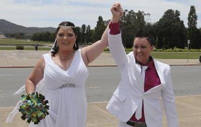 В Австралии отменили однополые браки