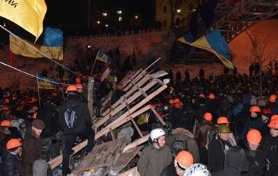 В ночь на четверг в Киеве митинговало более пяти тысяч человек, ситуация остается спокойной - МВД