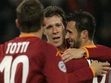 Серия А: Рома сокращает разрыв от Интера до одного очка