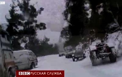 Новая беда в Сирии - холод и снег