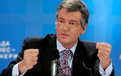 Ющенко призвал Януковича подписать СА до Нового года