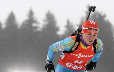 Биатлон: Украинка Семеренко выиграла бронзу на этапе Кубка мира