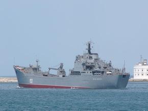 УП: В Севастополь зашел российский корабль с контрабандой крылатых ракет