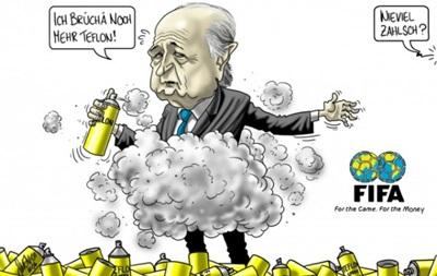 Суд запретил комиксы про президента FIFA