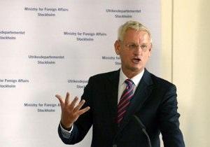 Министр иностранных дел Швеции сообщил, кто ему запретил свидание с Тимошенко