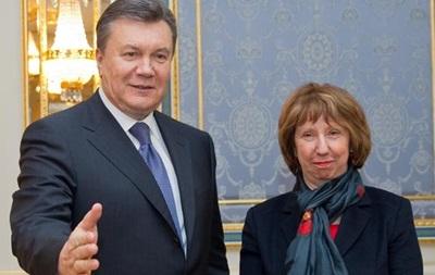 Совет ЕС на уровне глав МИД подтвердил готовность подписать СА с Украиной - Эштон
