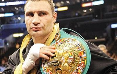 Виталий Кличко снова награжден титулом почетного чемпиона WBC, его пояс стал вакантным