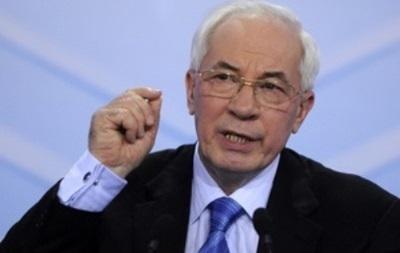 Азаров: В переговорах Украины и России по газу поставлена точка