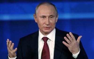 Кремль не обещает сенсационных заявлений на  большой  пресс-конференции Путина