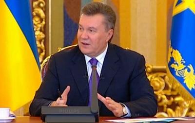 Янукович: Цена на российский газ будет меняться