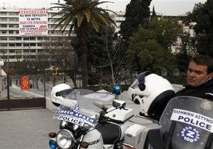 В Греции демонстранты захватили министерство финансов