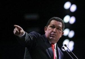 Чавес приказал сбивать колумбийские беспилотные самолеты над Венесуэлой