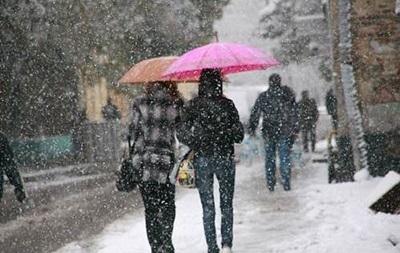 21 декабря - прогноз погоды - В субботу в Украине до +4, на севере и востоке ожидается мокрый снег с дождем