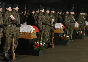 Польские солдаты возвращаются домой из Афганистана
