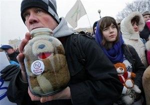 В Москве задержанных на марше в защиту детей выпустили на свободу