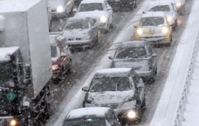 ГАИ предупреждает водителей об ухудшении погодных условий в Киеве